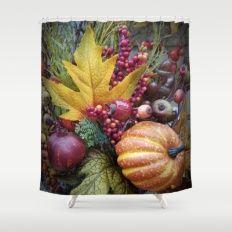 Autumn Naturals Shower Curtain