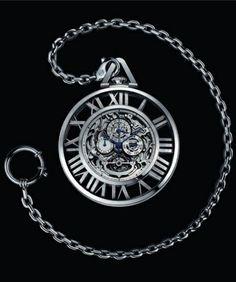 Cartier Grand Complication Skeleton pocket watch, calibre 9436 MC