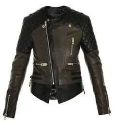 Balenciaga Quilted Shoulder Biker Jacket for those who love to live wild  with a rocker style.