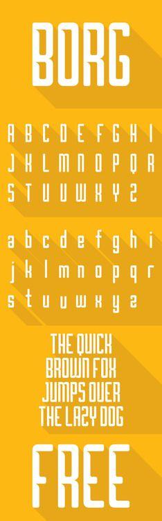 Borg - Free Font