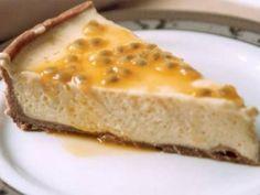 Receita de Torta de Maracujá - Tudo Gostoso