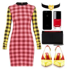 """Untitled #32"" by jarzembovska555 on Polyvore featuring Baldinini, Christian Louboutin, Chanel and Kenneth Jay Lane"