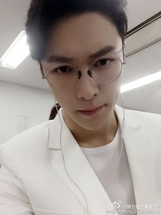 Lay looks like a handsome doctor
