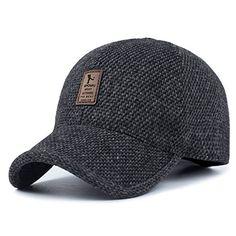 1356c1383a387 Men s Warm Wool Woolen Tweed Peaked Baseball Caps Hat Price   36.99 Sale    9.99  amp