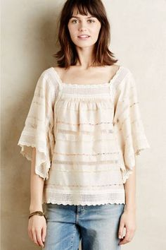 Veldt Peasant Blouse by Hoss Intropia