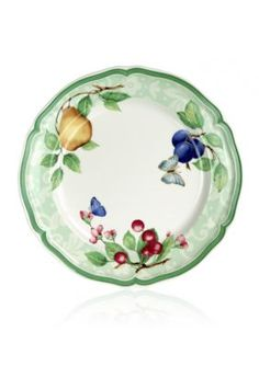 Villeroy U0026 Boch Dinnerware, French Garden Fleurance Rim Cereal Bowl |  Villeroy | Pinterest | Gardens, Dinnerware And French