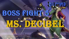 Sly Cooper 4 Thieves in Time Boss Fight 5 Ms. Decibel
