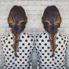 19 Fishtail Hairstyles for that hip look  Hairstyle Monkey Fishtail Hairstyles, Indian Hairstyles, Girl Hairstyles, Medium Hair Braids, Medium Hair Styles, Monkey, Beauty, Women, Jumpsuit