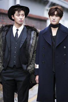 Park Seo Joon & Park Hyung Sik // Hwarang Joon Park, Korean Celebrities, Korean Actors, Asian Actors, Park Seo Jun, Seo Kang Joon, Korean Artist, Ji Chang Wook, Korean Men
