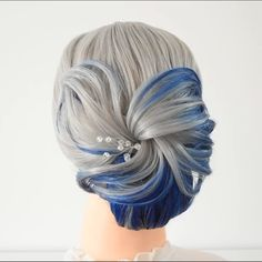 Beautiful hairstyle By: Bun Hairstyles For Long Hair, Bride Hairstyles, Female Hairstyles, Hairstyle Men, Style Hairstyle, Hairstyles 2018, Pretty Hairstyles, Hair Up Styles, Medium Hair Styles
