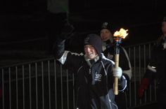 The games torch...