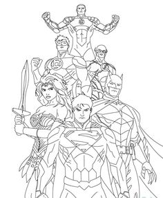 coloring pages Superman Coloring Pages Ideas for the House