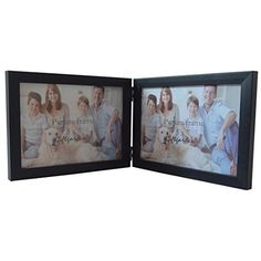 giftgarden 5x7 wooden double picture frame for desktop o https - Double 5x7 Frame