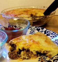 Low-Carb Taco (Meringue) Pie | LowCarbKaye.com