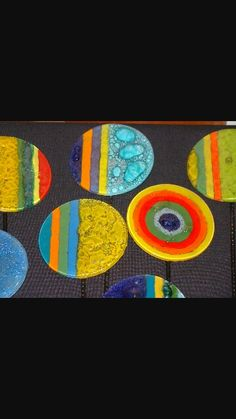 Tutores My Glass, Glass Art, Fused Glass Ornaments, Glass Design, Resin Art, Colored Glass, Night Light, Crafts, Painting