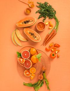 Tami Hardeman Food Stylist Orange on Orange food photography. Tami Hardeman, food stylist with over Orange Aesthetic, Aesthetic Food, Fruit And Veg, Fruits And Veggies, Fruits Basket, Vegetables, Food Design, Web Design, Fruit Photography