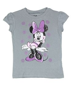 Another great find on #zulily! Minnie Mouse Sketch Tee - Toddler #zulilyfinds
