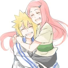 I'm… I'm happy. Happy that you loved me. (Kushina)