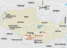 Map bhutan nepal tibet | ... nepal tourism board nepal trekking agency nepal travel agency