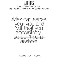 Zodiac Aries Facts! TheZodiacCity.com - For more zodiac fun facts, click here.