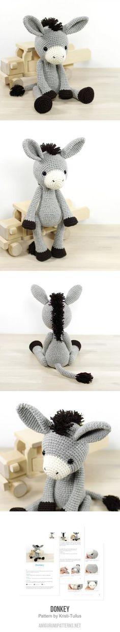 Donkey Amigurumi Pattern