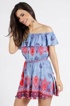 Macaquinho Dress To Brigitte - BabadoTop