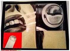 James Rosenquist Vidrio ahumado Óleo sobre lienzo. Museo Thyssen-Bornemisza, Madrid 1962 James Rosenquist Smoked glass Oil on canvas. Thyssen-Bornemisza Museum, Madrid 1962