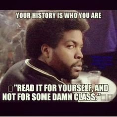 YOUR HISTORY!!!    White or Black read it! We have what we have because of that history, because of the people who were used because they were not white.