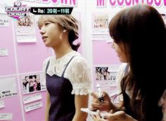 lol....EunJI always seems to be pulling NamJoo out of a fire. I really love watching Apink have a good time.