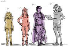 Big difference between Hazel and Annabeth! Lol