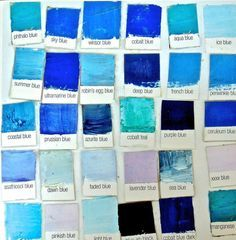 She is a one-roomer – a Kafka character, except they are never women – all alone. Using all my blues to paint hers – turquoise, cobalt, ultramarine, sapphire – her sad life …