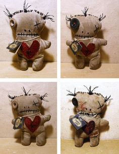Don't like Valentines? Make the anti-valentine voodoo doll!