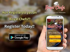 """Your food, your chef,Enrich your taste bud with Royal Chefs"" Download the ‪#‎royalchefs‬ App now! https://goo.gl/7zgs0I ‪#‎Newapp‬ ‪#‎Foodapp‬ ‪#‎pune‬ ‪#‎delhi‬ #gurgaon"