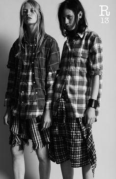 R13 l S/S 2015 WOMEN R13denim.com #R13 #SS2015 #womenswear