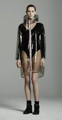 Wanda Nylon rain wear. Cool!