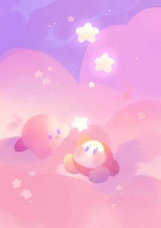 Give my regard to the next frog you meet! Kawaii Art, Kawaii Anime, Kawaii Room, Desenhos Cartoon Network, Kirby Games, Kirby Character, Dibujos Cute, Kawaii Wallpaper, Video Game Art