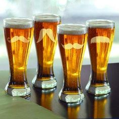 Moustache Pilsner - Set of 4.