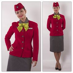 S7 airlines stewardess
