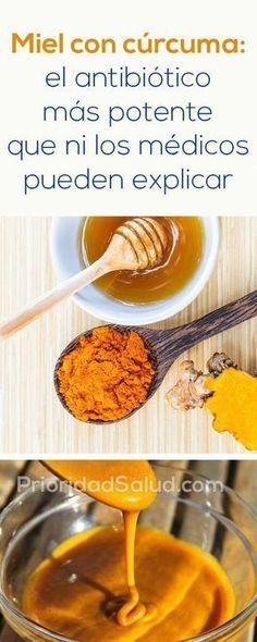 Miel con curcuma, el antibiotico más potente que ni los medicos pueden explicar.