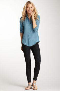 The Seamed Skinny Jean.