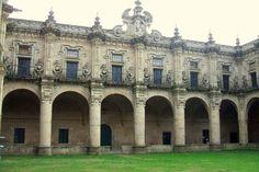 Monasterio de  San Salvador, Celanova, Orense. Siglos X al XVIII. Estilos del prerrománico al barroco.