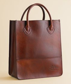 leather - carry your lunch, files, change of shoes and look neat and organized