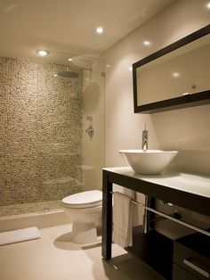 Modern Pool Bathroom Design, Pictures, Remodel, Decor and Ideas - page 3