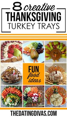 Fun Thanksgiving Trays More