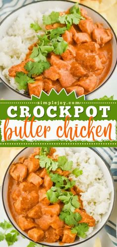 Here's an easy crockpot meal for when you crave Indian food! This chicken dinner recipe will find its way to your menu rotation. Once you try this Slow Cooker Butter Chicken, the whole family will request it again and again! Spicy Recipes, Indian Food Recipes, Crockpot Recipes, Ethnic Recipes, Butter Chicken Recipe Crockpot, Chicken Recipes, Roasted Cauliflower, Perfect Food, Other Recipes
