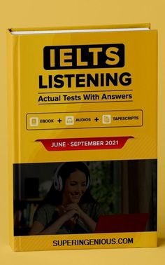 Get the IELTS Listening Actual Tests and Answers 2021 book.