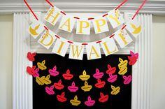 Diwali Decorations Happy Diwali Banner Festival by DCBannerDesigns