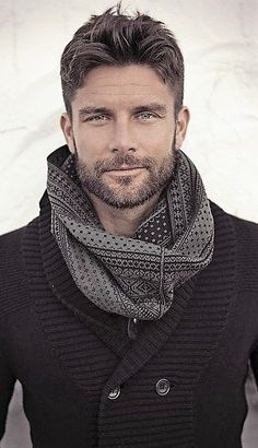 The scarf ...nice + all the rest ...