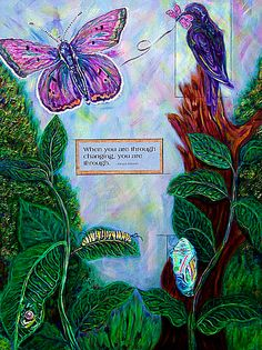 """Change"" Amy Buchheit - Fine Art - http://www.amybuchheit.com"