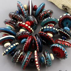 US $75.00 New without tags in Jewelry & Watches, Loose Beads, Lampwork